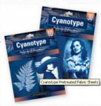 Cyanotypie-Stoffbögen 10-er Packung