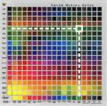 Farbmischübersicht
