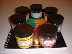 Färbe-Starterkit 7 Grundfarben ohne Buch