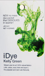 iDye-Färbebeutel für Polyester