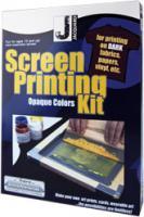 Siebdruck-Kit für dunkle t-shirts
