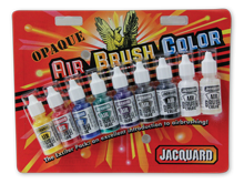 Airbrush Opaque Exciter Pack mit 9 Glitzerfarben