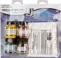 Procion MX-Starterkit 4 Farben