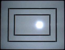 Thermofax-Kunststoffrahmen